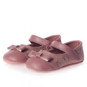CALVIN KLEIN Baby Girls Pink Pre-Walker Shoes 1