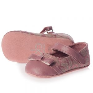 CALVIN KLEIN Baby Girls Pink Pre-Walker Shoes