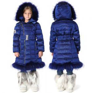 CANZITEX Girls Blue Down Coat 1