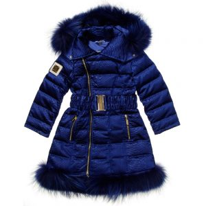 CANZITEX Girls Blue Down Coat