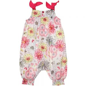 CATIMINI Baby Girls Cotton Floral & Butterfly Shortie