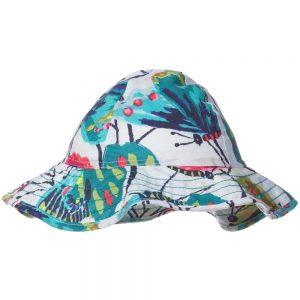 CATIMINI Girls Floral Printed Sun Hat