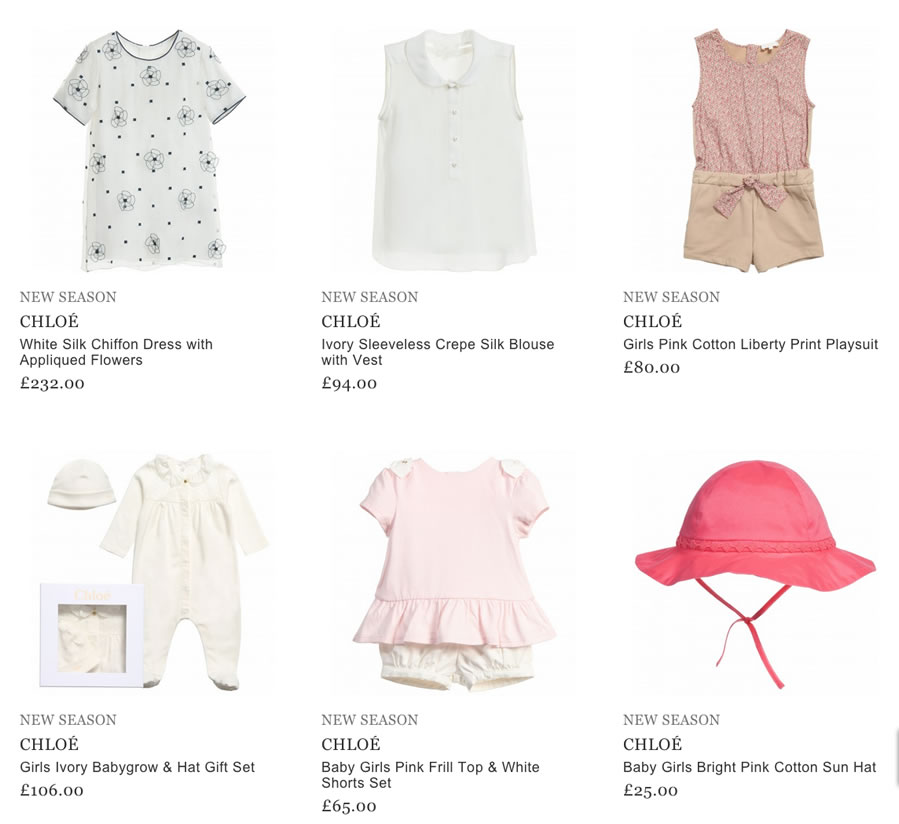 Chloe Kids Clothes
