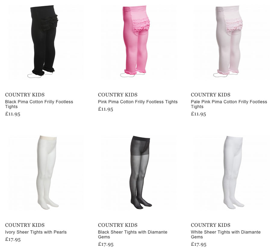 Country Kids socks and tights