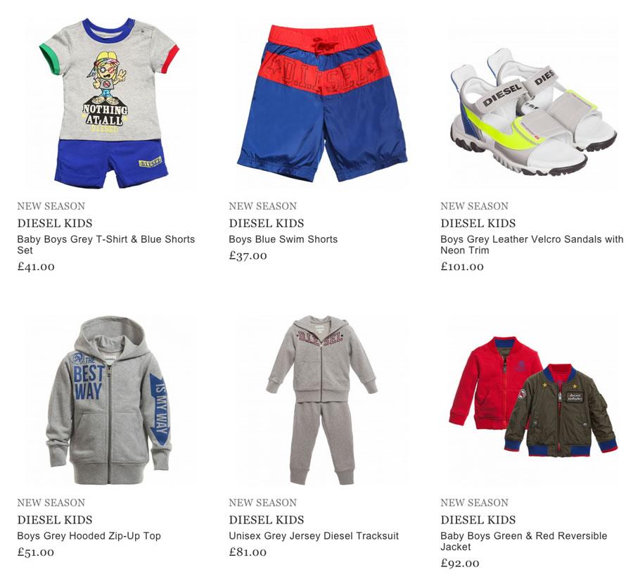 Diesel Kids Clothes