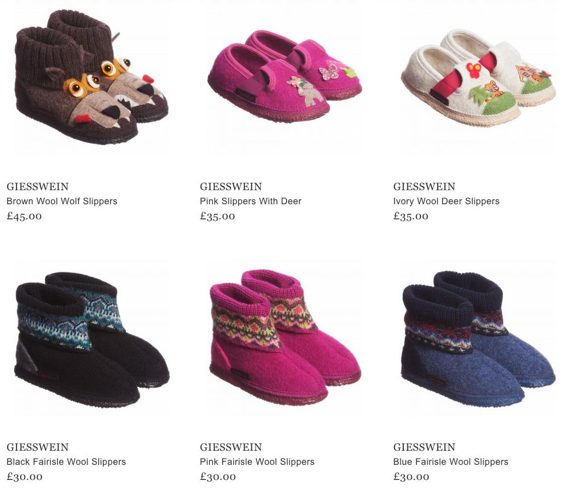Giesswein Baby & Kids Wool Slippers