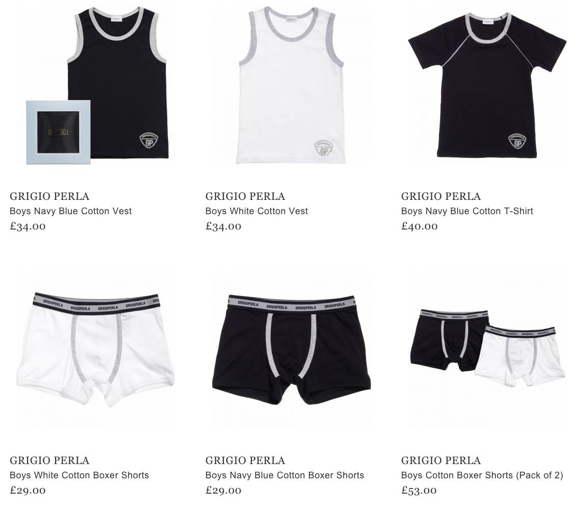 Grigio Perla Kids Unerdwear