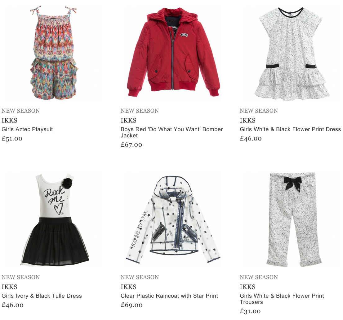IKKS Kids & Baby Clothing