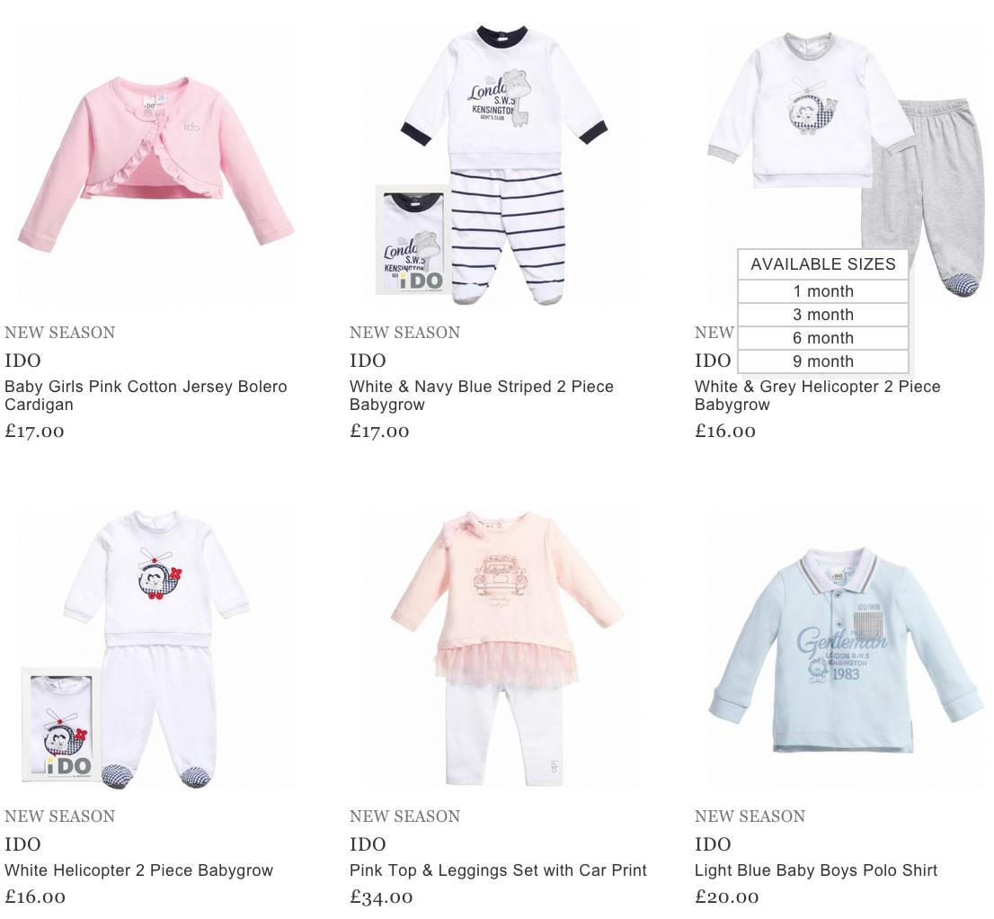 Ido Baby Clothes
