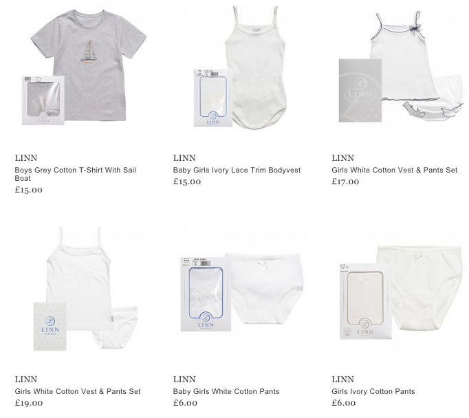 LINN Baby & Children Underwear