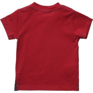 LITTLE MARC JACOBS Baby Boys Red T-Shirt with Cartoon Character