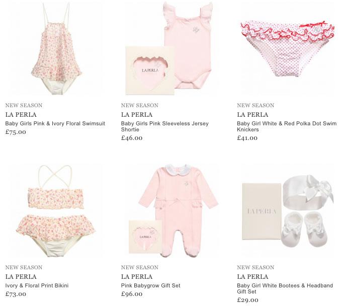 La Perla Children & Baby Clothes