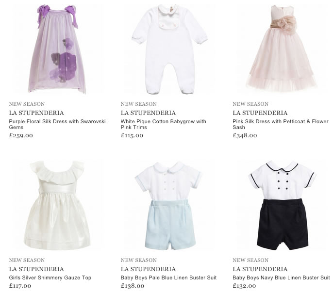 La Stupenderia Kids Clothing