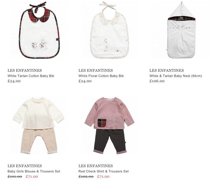Les Enfantines Baby Clothing