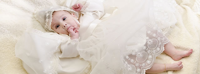 Little Darlings Christening Baby Clothing