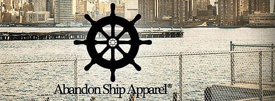 Abandon Ship kids wear
