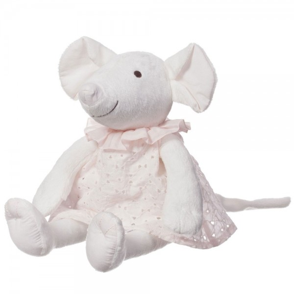 CHLOÉ Girls Ivory Mouse Soft Toy (31cm)