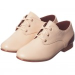 CHLOÉ Pale Peachy Pink Leather Shoes