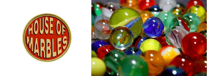 House of Marbles kids glass toys