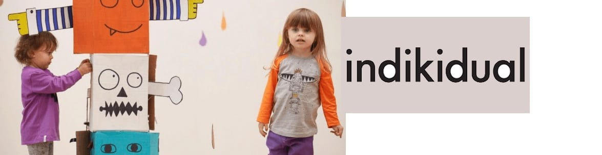 Indikidual unisex children clothing