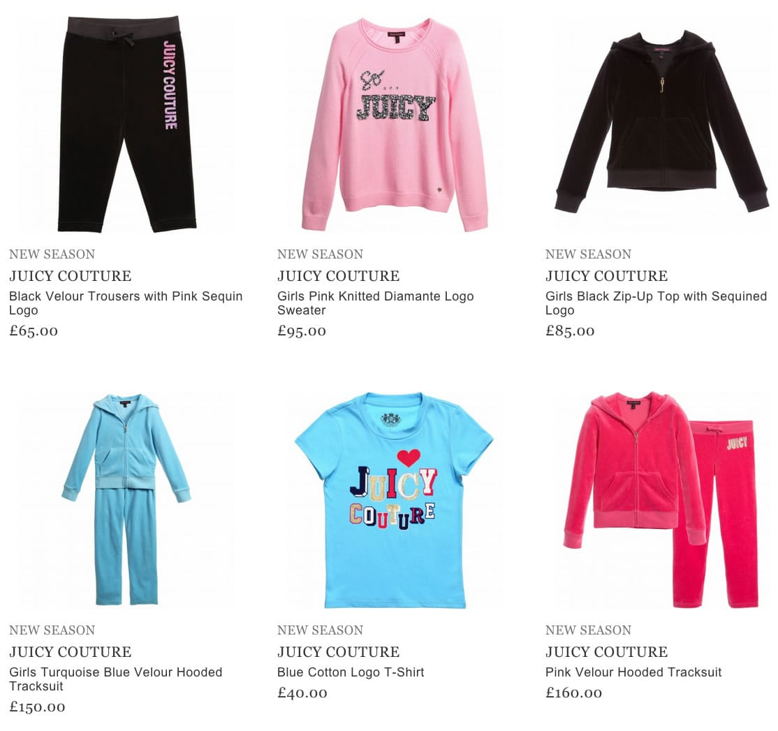 Juicy Couture Baby Clothes