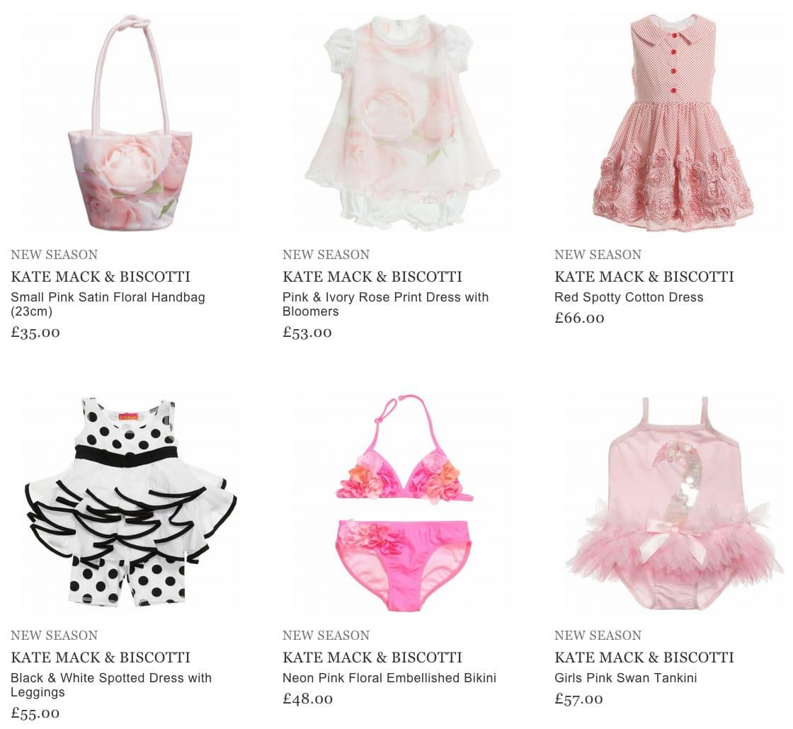 Kate Mack & Biscotti Children Clothes
