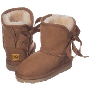 LOVE FROM AUSTRALIA Brown Sheepskin 'Cupid' Boots3