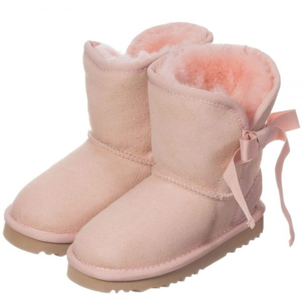 LOVE FROM AUSTRALIA Pink Sheepskin 'Cupid' Boots2