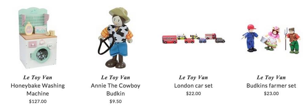 Le Toy Van toys