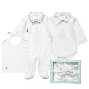 MARIE-CHANTAL Baby Boys 3 Piece Gift Set1
