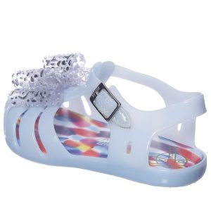 MINI MELISSA Girls Blue Vivienne Westwood Jelly Sandals1