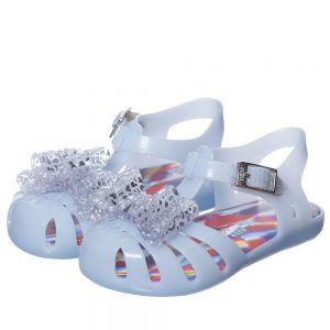 MINI MELISSA Girls Blue Vivienne Westwood Jelly Sandals2