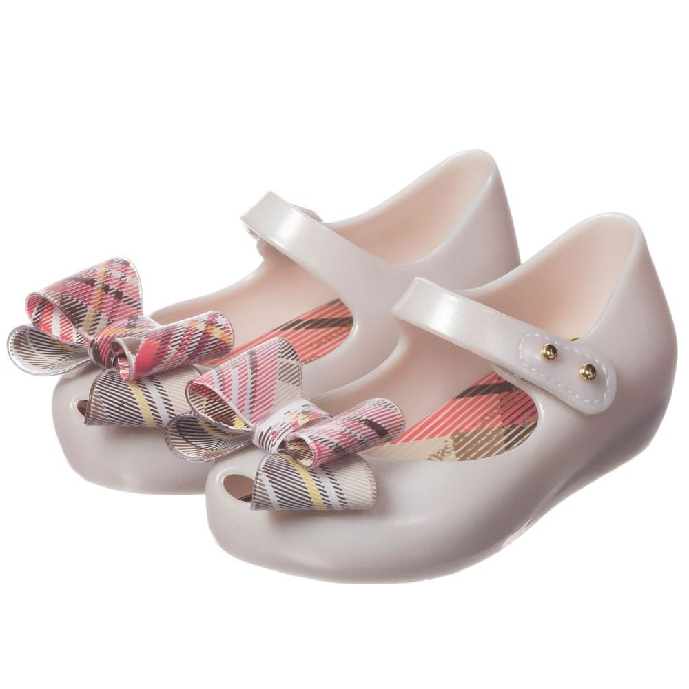thoughts on genuine shoes new release MINI MELISSA Ivory Vivienne Westwood Jelly Shoes - Children Boutique