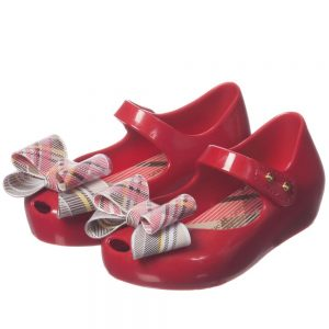 MINI MELISSA Red Vivienne Westwood Jelly Shoes1