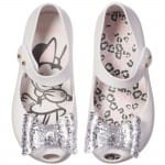 MINI MELISSA White Minnie Mouse Jelly Shoes