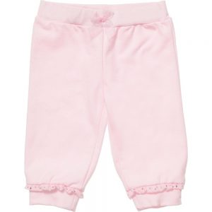 MISS BLUMARINE Girls Pink Frill & Diamante Trim Tracksuit