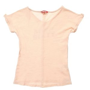 MISS SIXTY Girls Pale Pink Cotton T-Shirt1