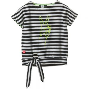 MOLO Black & White Striped 'Rinah' Top1
