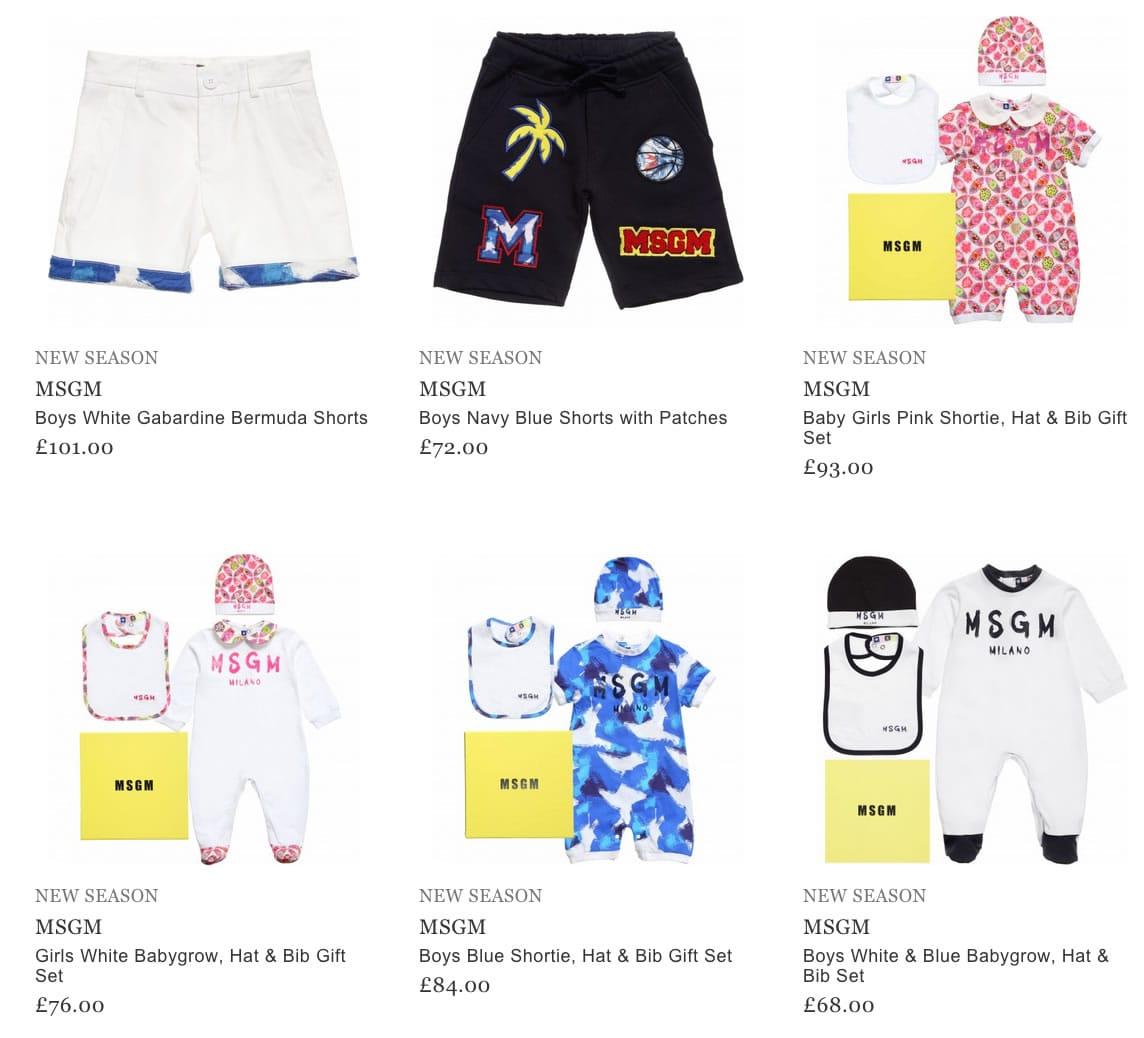 MSGM Children & Baby Clothing