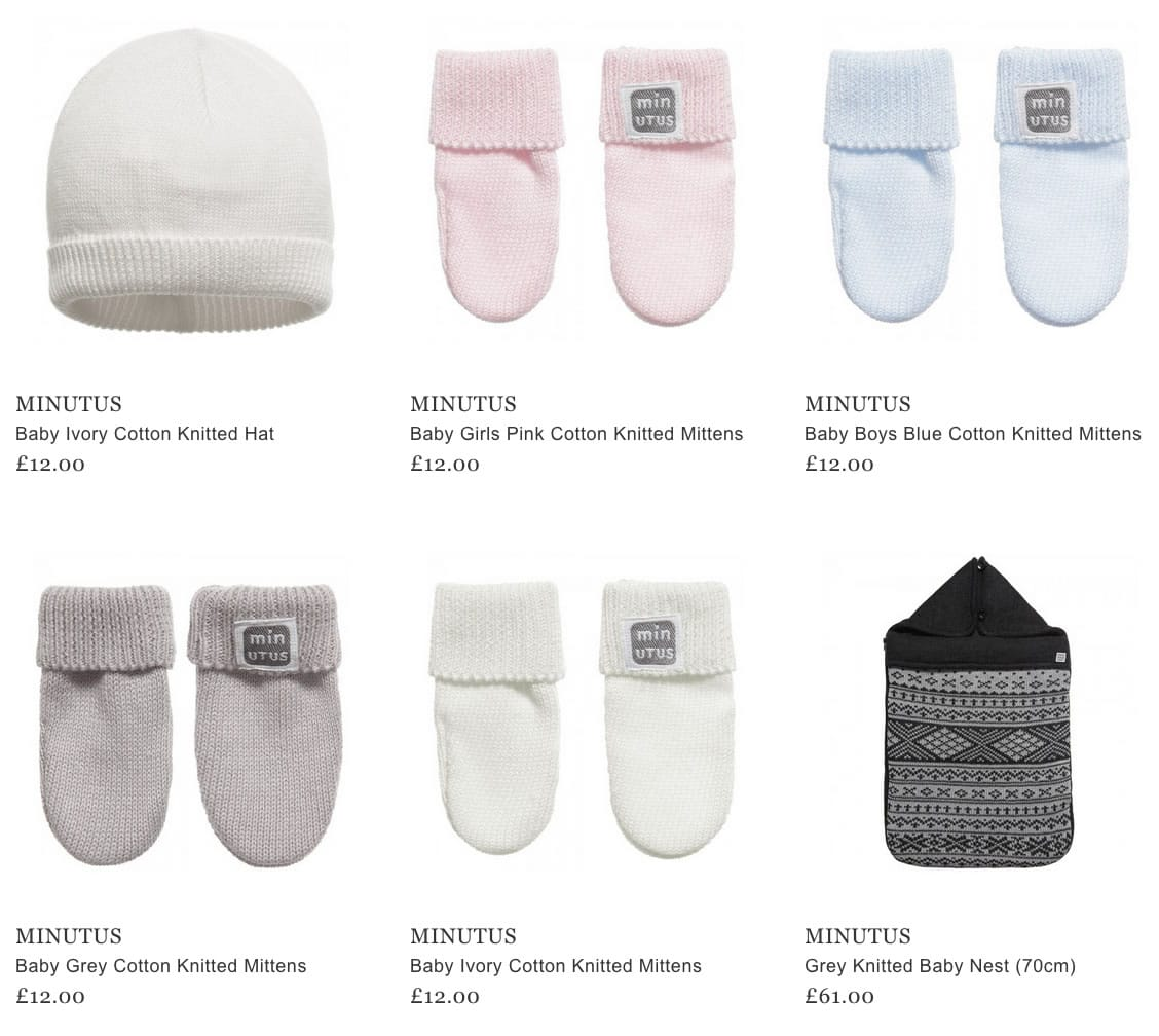 Minutus Baby Clothes & Accessories