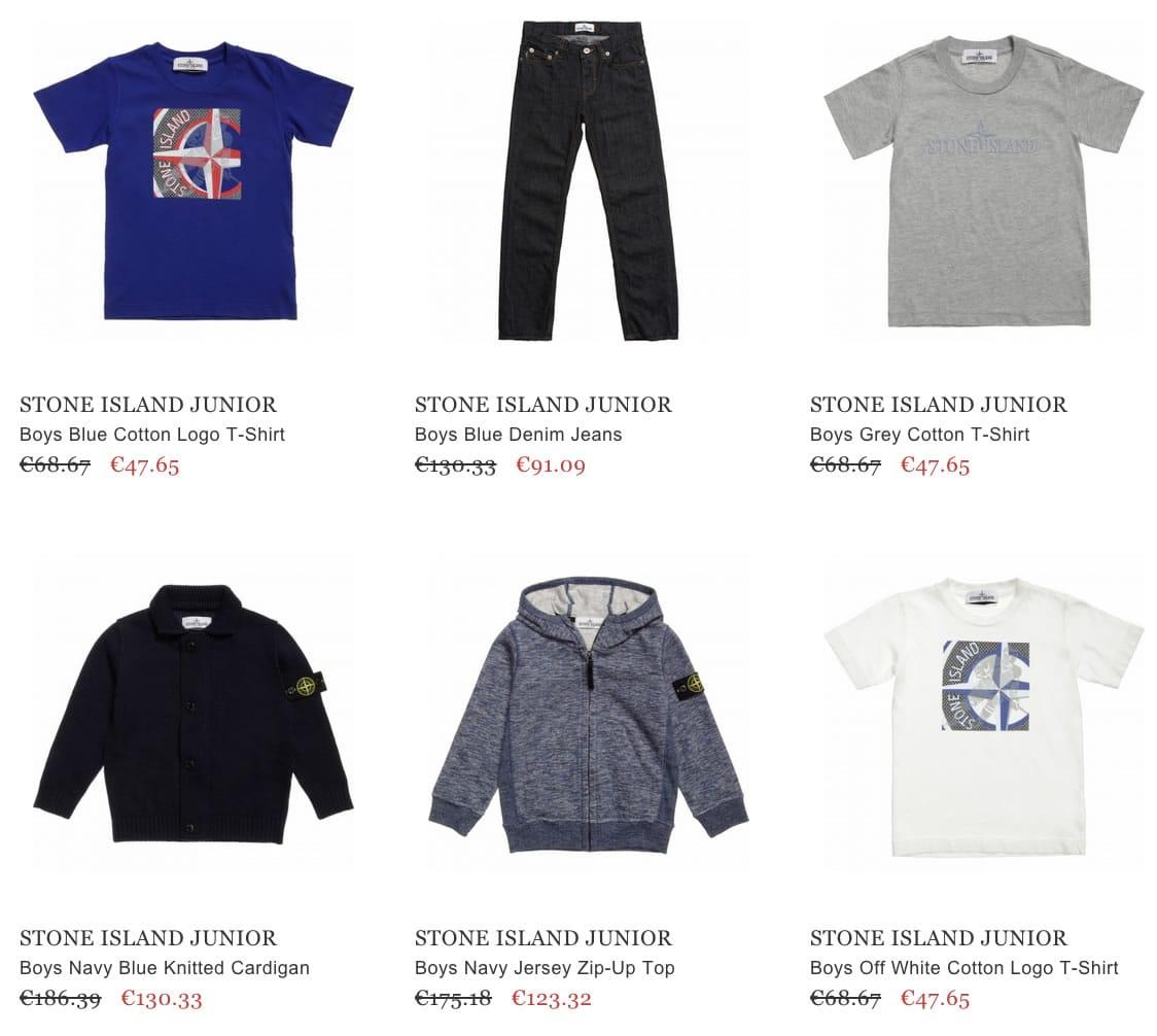 STONE ISLAND JUNIOR kids clothes