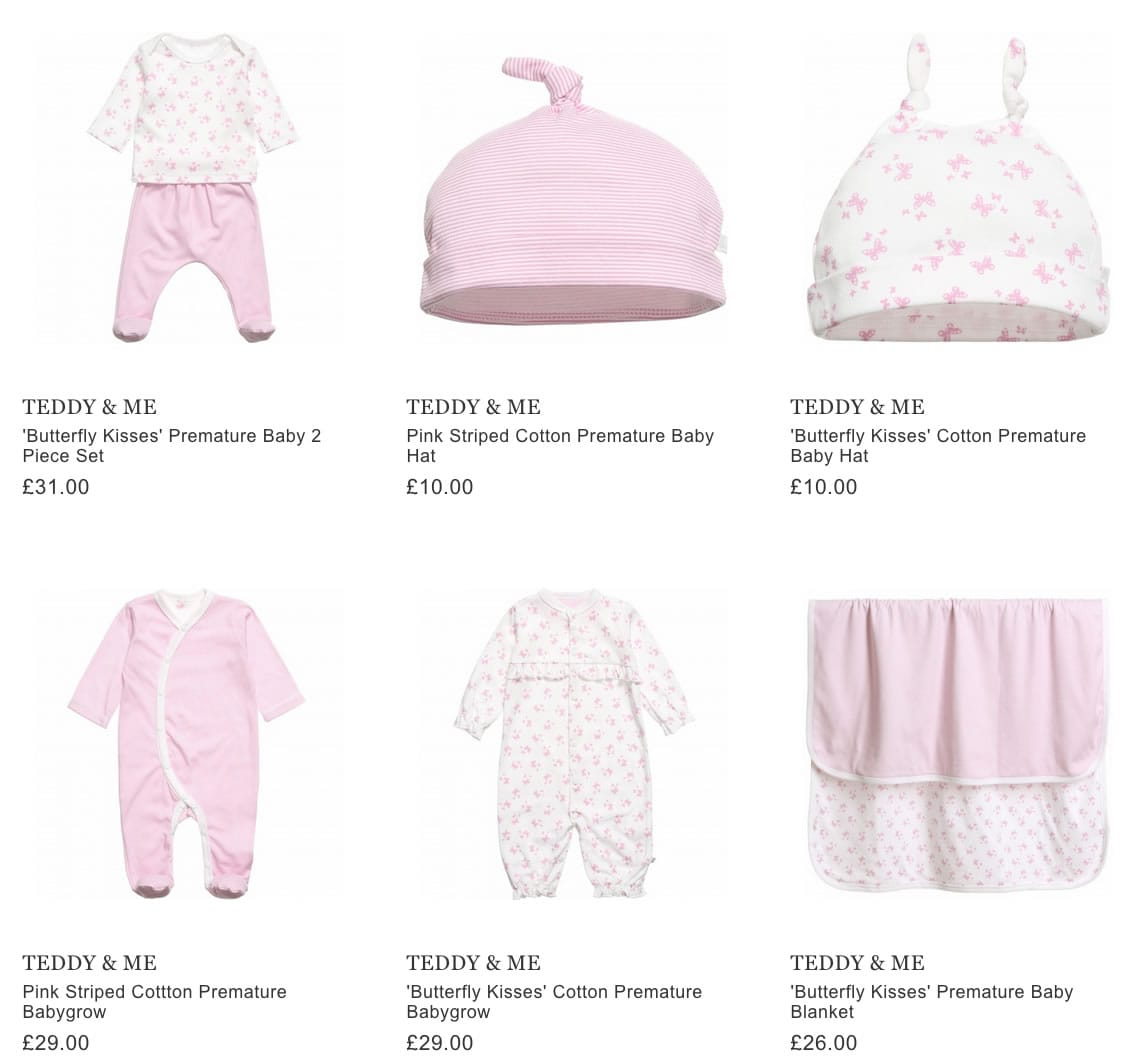 TEDDY & ME baby clothing & accessories