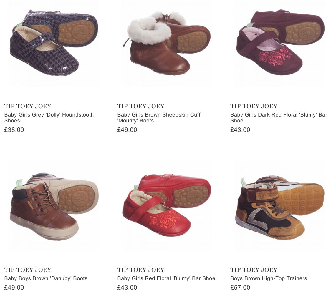 TIP TOEY JOEY toddlers shoes