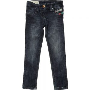 DIESEL KIDS Girls 30th Anniversary Blue Denim Jeans