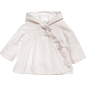 DIOR Baby Girls Pink Corduory Coat 1