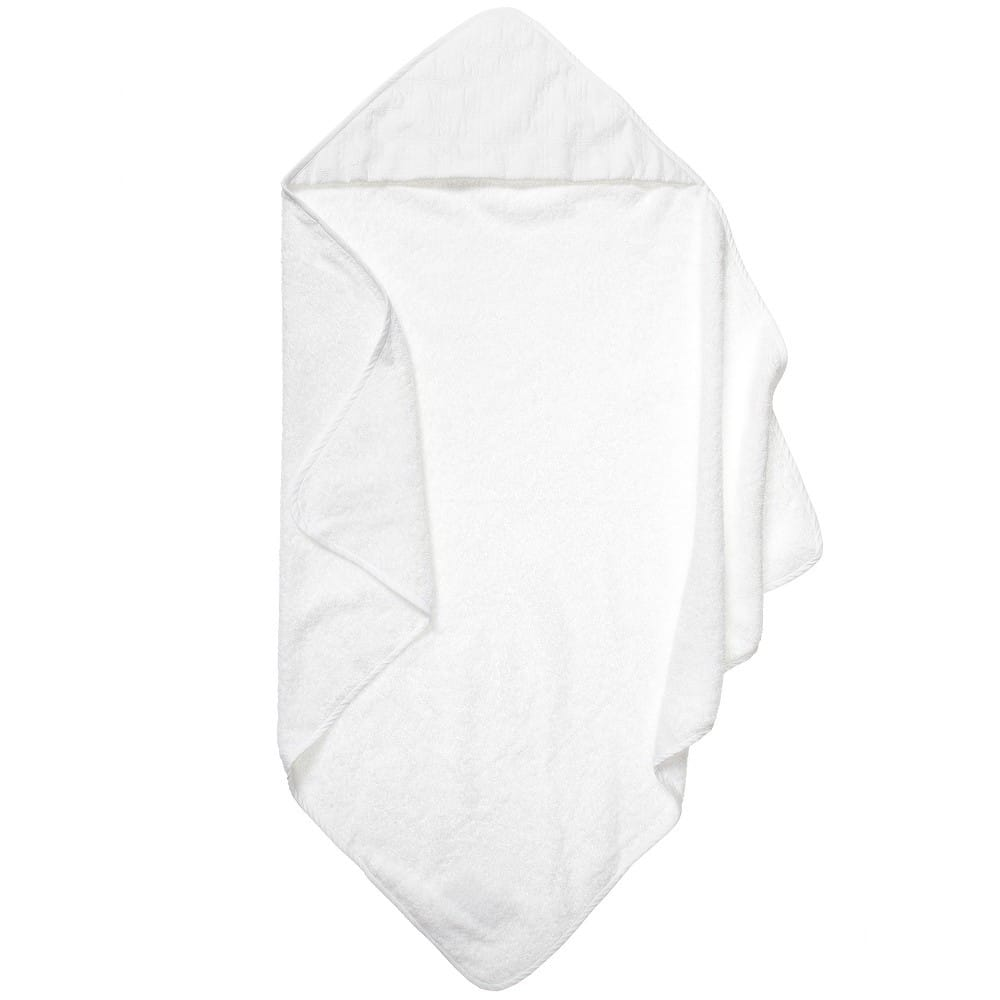 Dior Baby White Cannage Hooded Towel Children Boutique