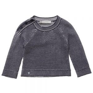 DIOR Boys Navy Blue Knitted Sweater