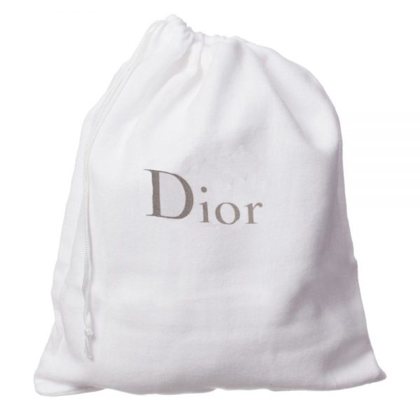 DIOR Girls Black Patent Leather 'Cannage' Shoes 3