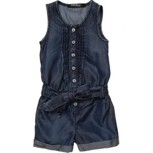 DKNY Girls Blue All-In-One Playsuit