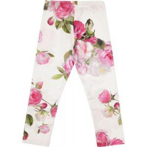 MONNALISA CHIC Vintage Floral Print Leggings1
